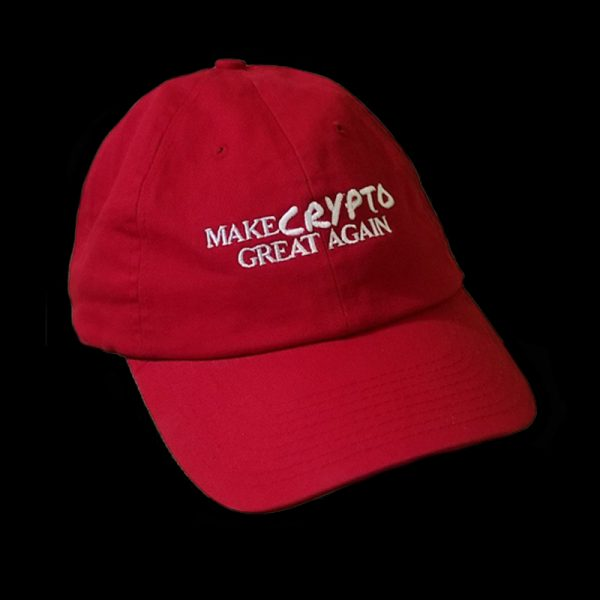 A take on the Make America Great Again Hat